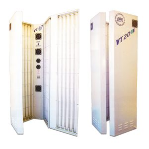 The VT20 Sunbed for hire or sale